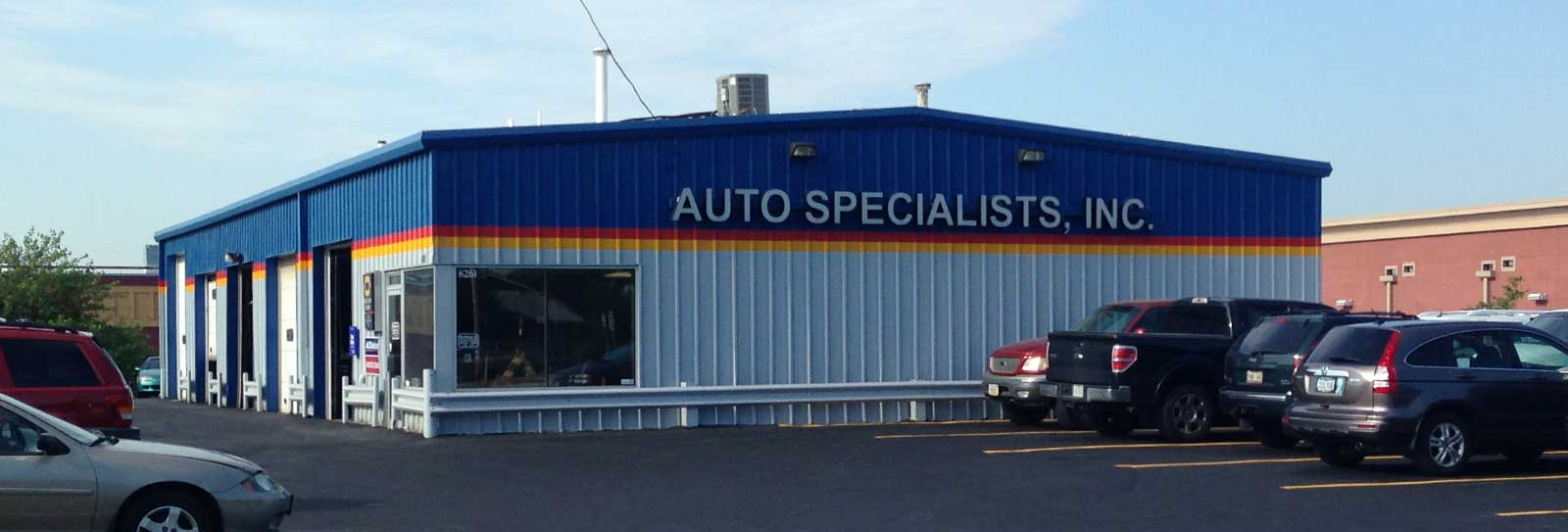Auto Specialists, Inc. - Auto Repair Shop in Omaha